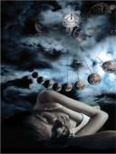 Mondeinfluss - Schlafstörungen